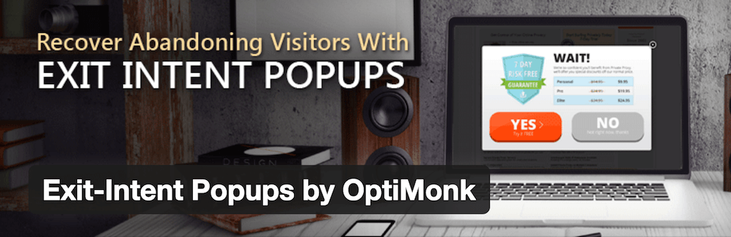 WordPress › Exit Intent Popups by OptiMonk « WordPress Plugins