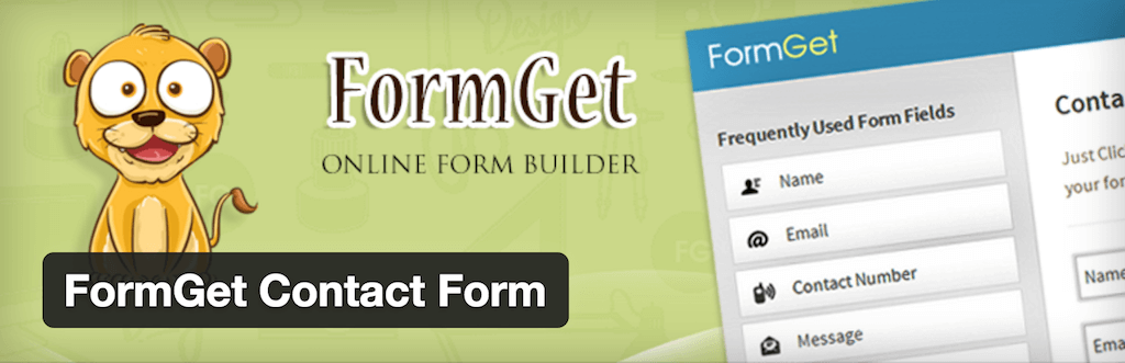 WordPress › FormGet Contact Form « WordPress Plugins