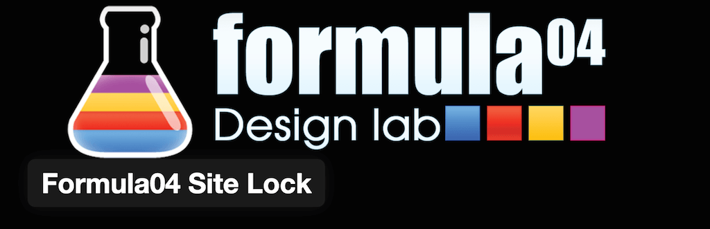 WordPress › Formula04 Site Lock « WordPress Plugins