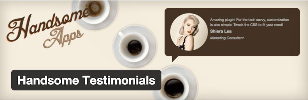 WordPress › Handsome Testimonials « WordPress Plugins