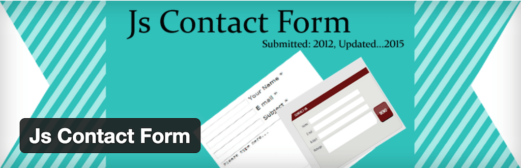WordPress › Js Contact Form « WordPress Plugins