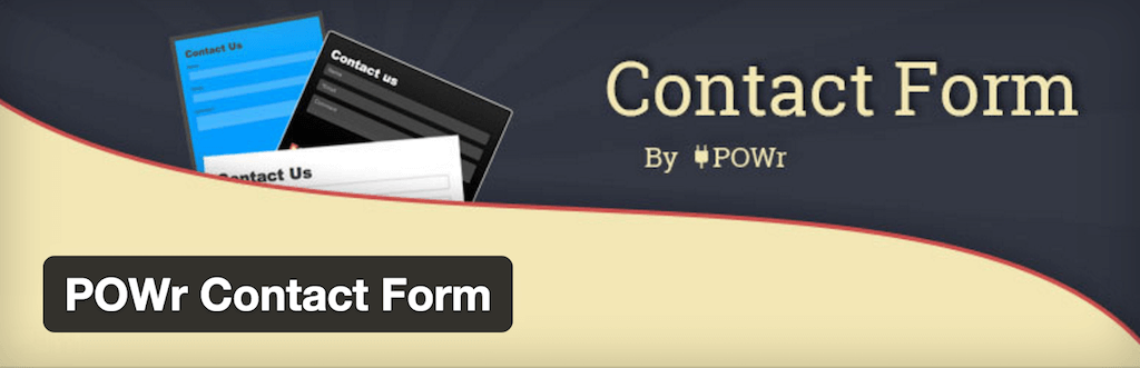 WordPress › POWr Contact Form « WordPress Plugins