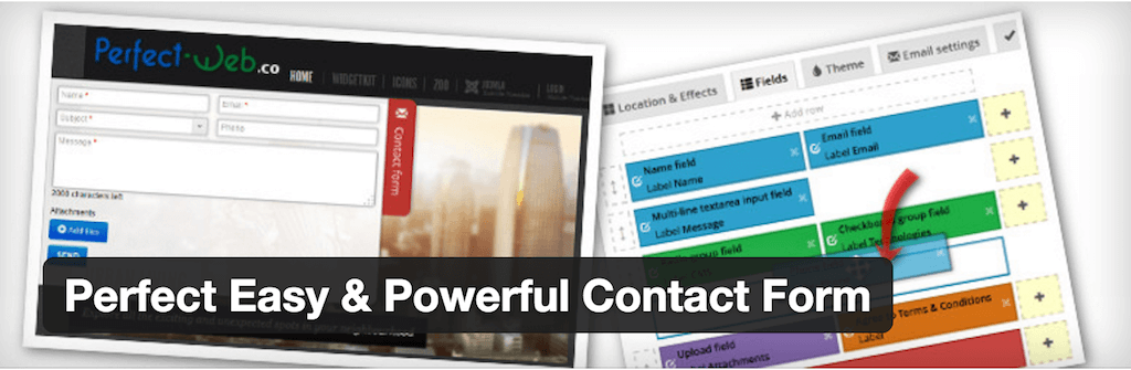 WordPress › Perfect Easy Powerful Contact Form « WordPress Plugins
