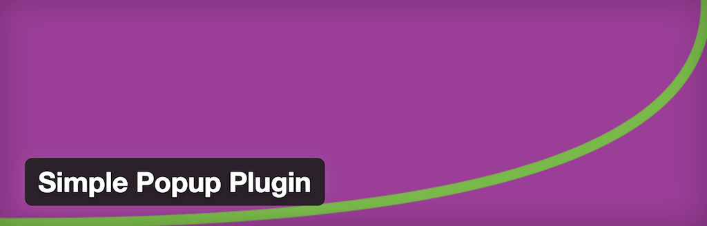 WordPress › Simple Popup Plugin « WordPress Plugins