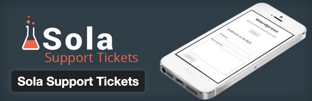 WordPress ›Sola Destek Biletleri« WordPress Eklentileri