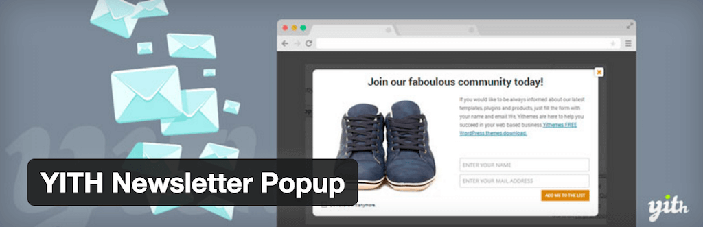 WordPress › YITH Newsletter Popup « WordPress Plugins