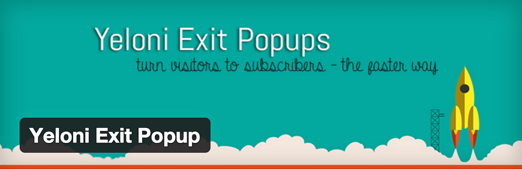 WordPress › Yeloni Exit Popup « WordPress Plugins
