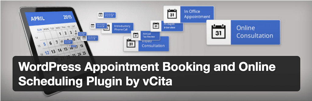 WordPress Appointment Booking and Online Scheduling Plugin by vCita