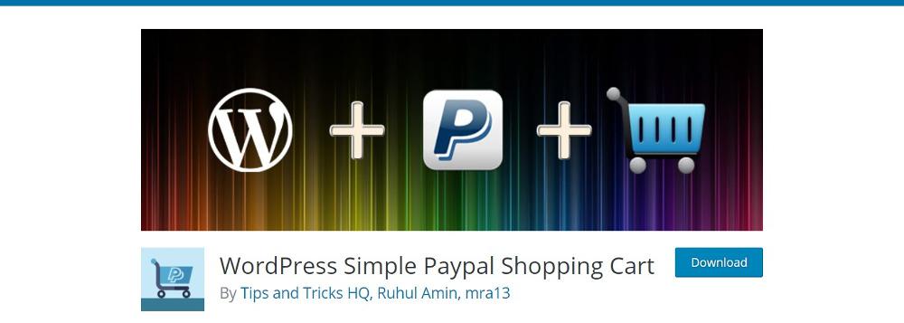 WordPress PayPal Plugins : WordPress Simple PayPal Shopping Cart