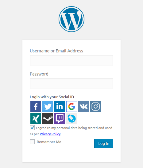 Share via social media and at the same time login using your social media account using Super Socializer