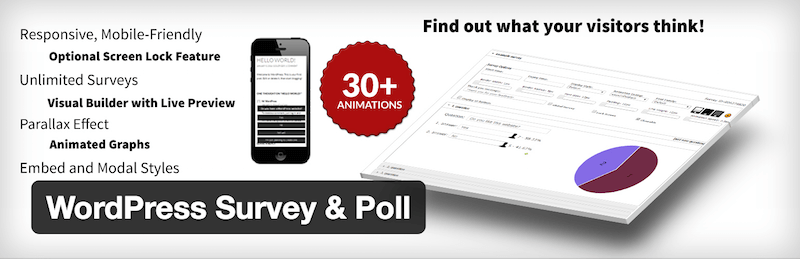 WordPress Survey & Poll