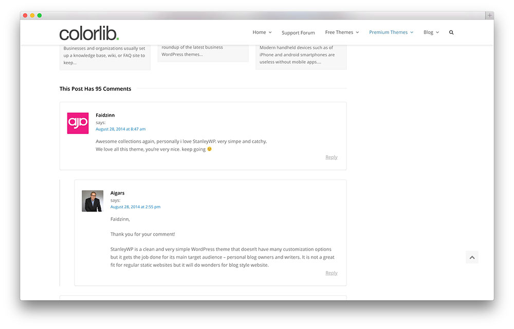 WordPress-comments-preview