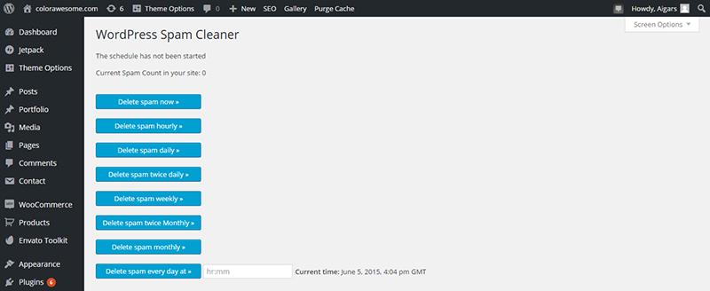 WordPressCommentsCleaner