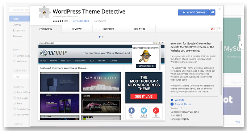 WordPressThemeDetective