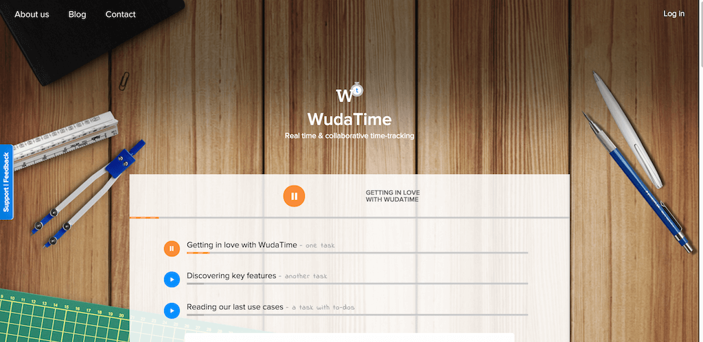 WudaTime – Free Time Tracking Project Management app