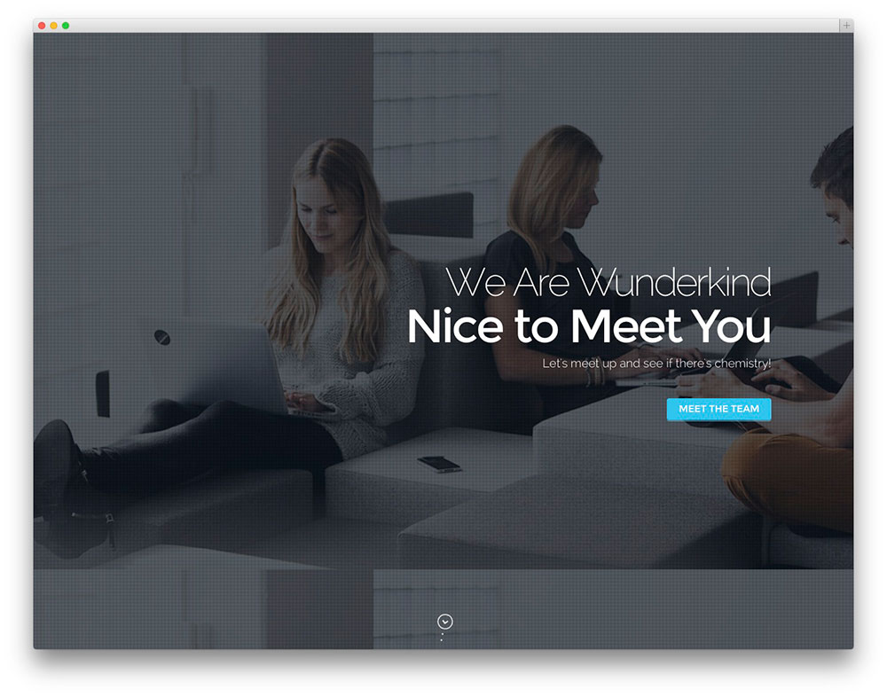 Wunderkind WordPress theme