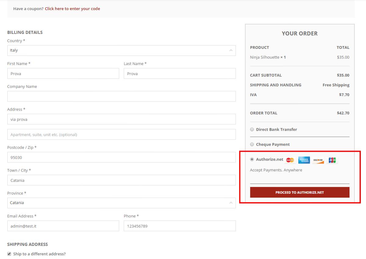 Responsive WooCommerce Authorize.net Plugins