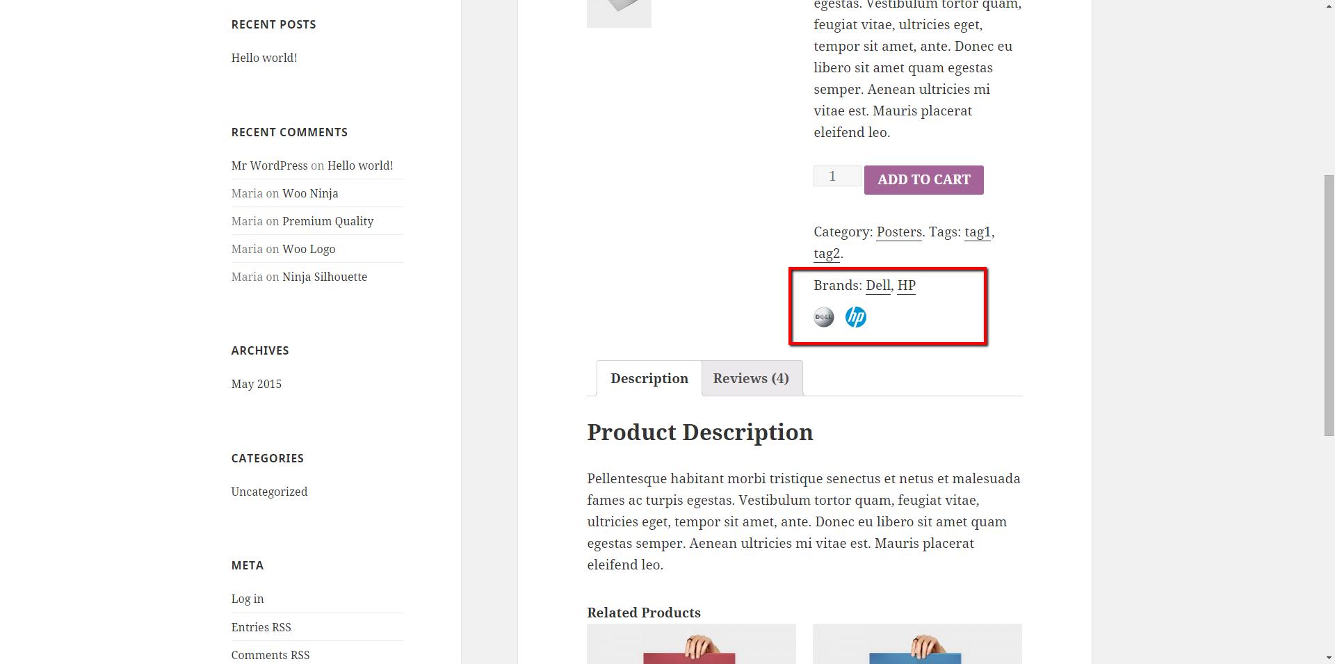 Responsive WooCommerce Brands Plugins