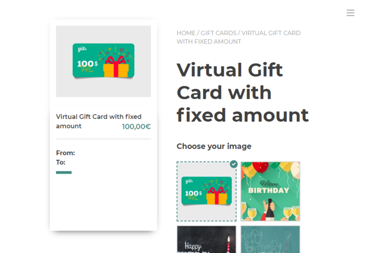 Virtual WooCommerce Gift Cards Plugins