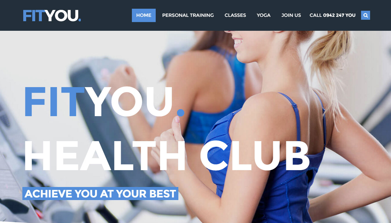 You Theme Review Demo Fitness