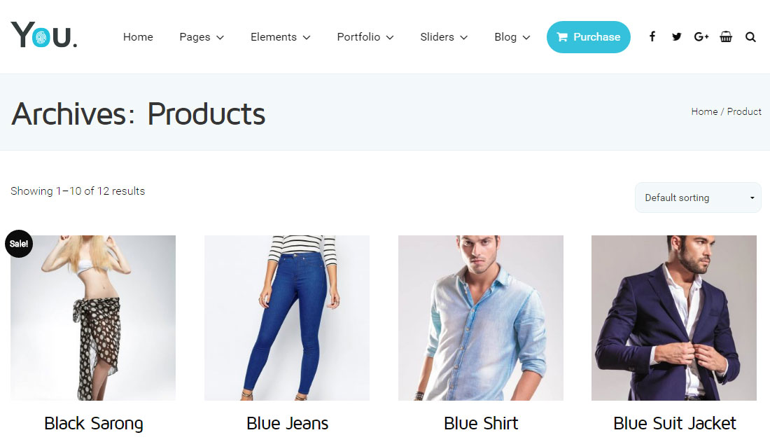 You Theme Review Ecommerce