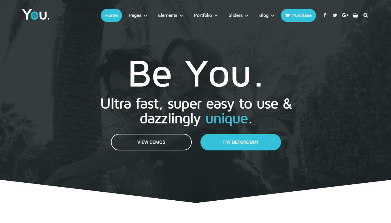 You Theme Review HomePage