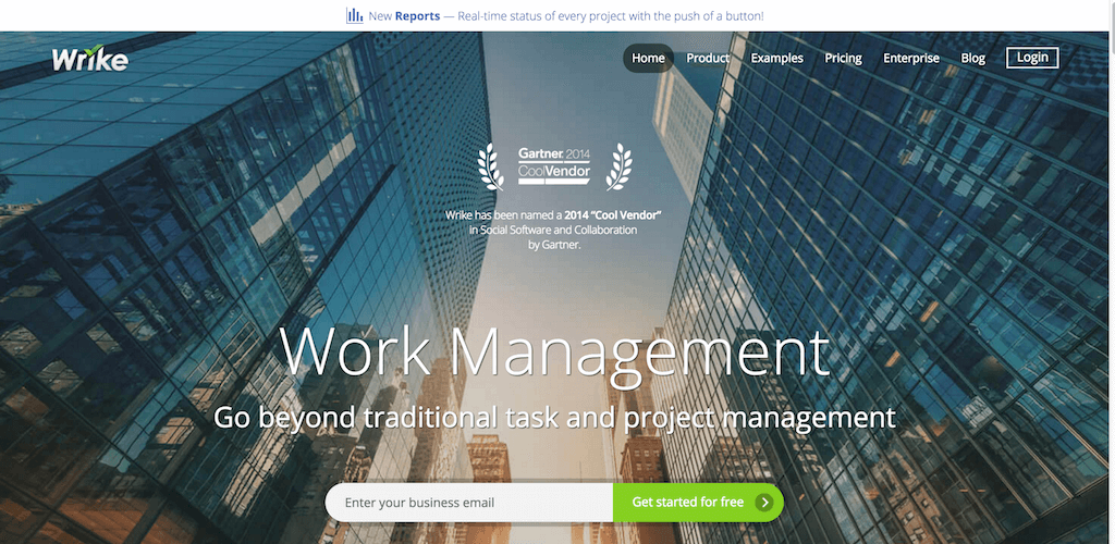 Your online project management software tools Wrike