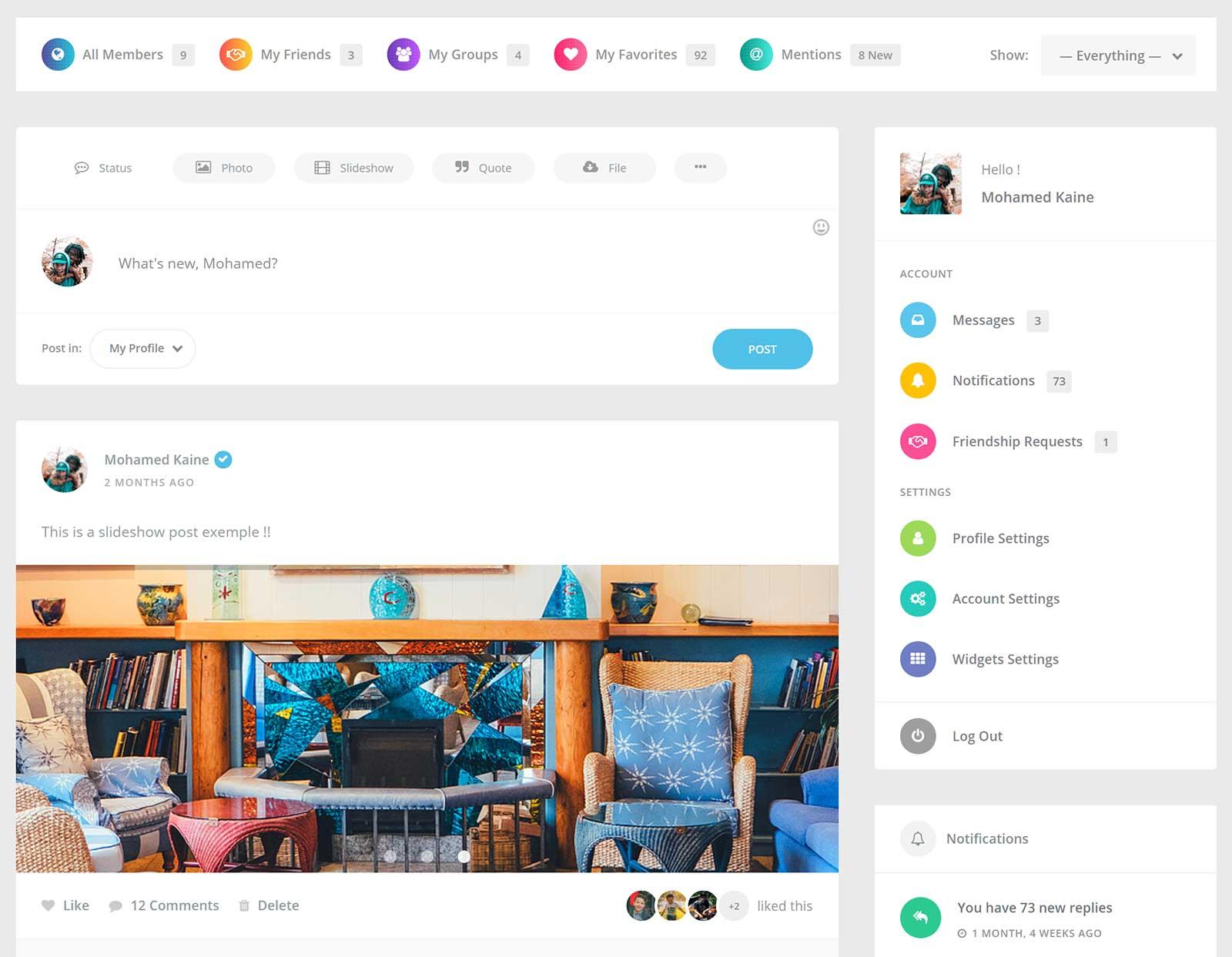 Youzer WordPress Plugin Review - BuddyPress Community and User