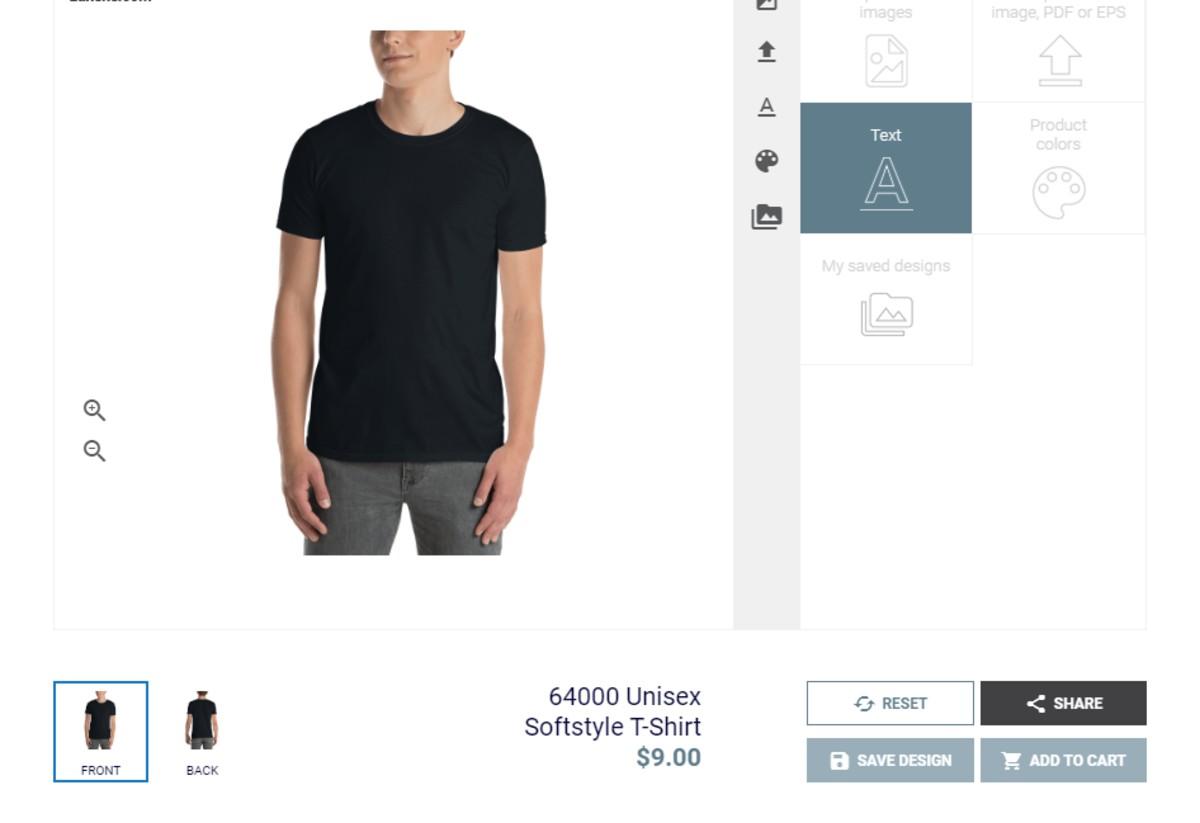Minimalist WooCommerce Product Designer Plugin