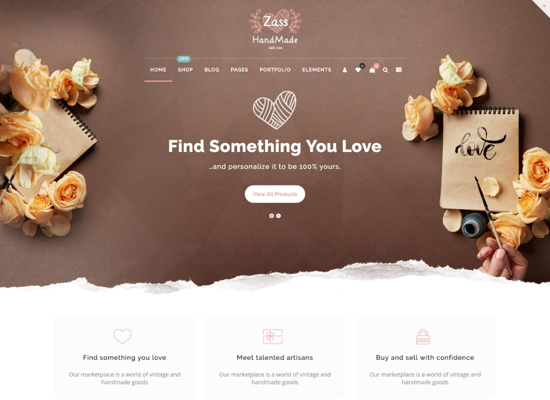 Zass | WooCommerce Theme for Handmade Artists and Artisans