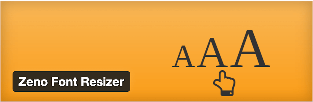 Zeno Font Resizer