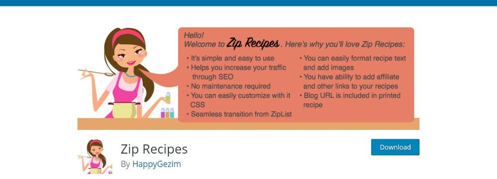 Zip Recipes