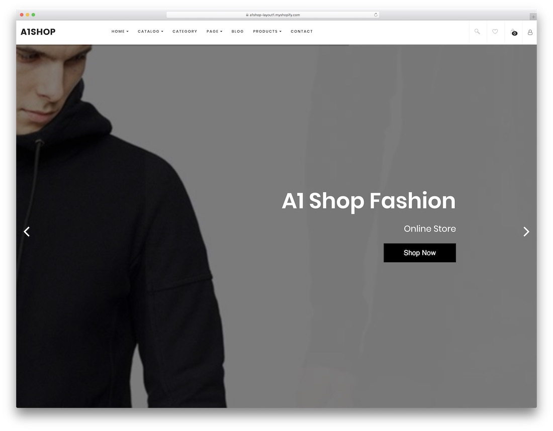 a1shop fashion shopify theme