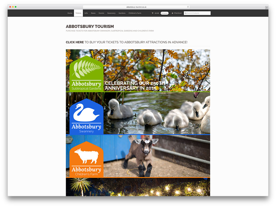 abbotsbury-tourism-website-with-woocommerce