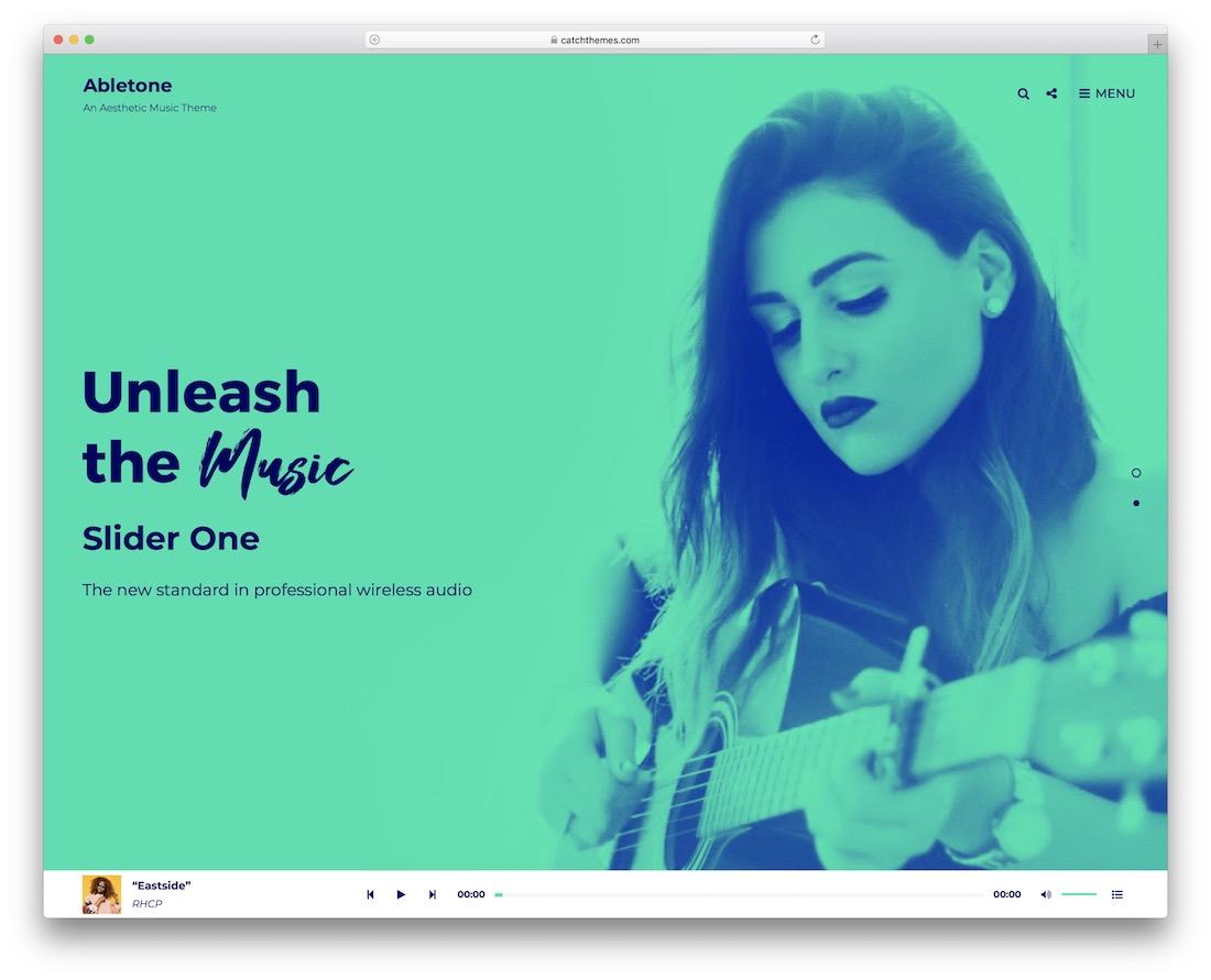 abletone free band wordpress theme