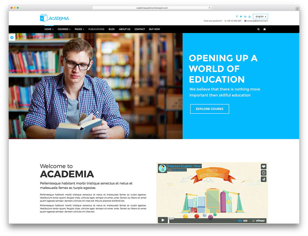 32 Awesome Amp Responsive Wordpress Education Themes 2017