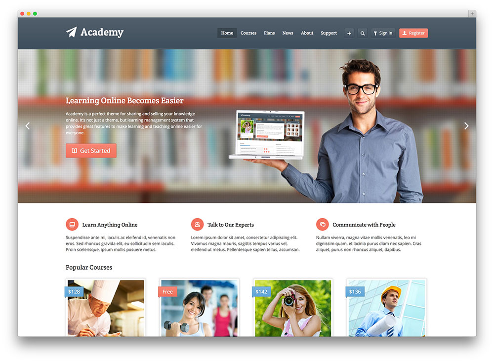 32 Awesome Responsive Wordpress Education Themes 2017