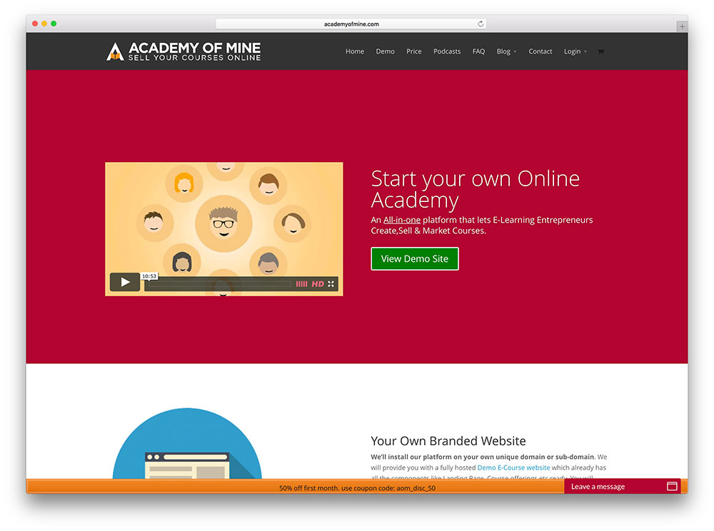 academyofmine-online-course-website-with-divi