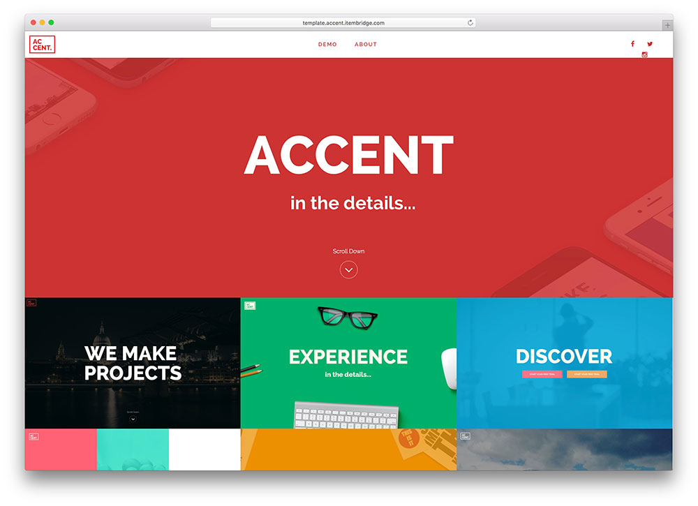 accent-flat-design-boostrap-html5-template