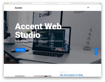 Accent Free Template