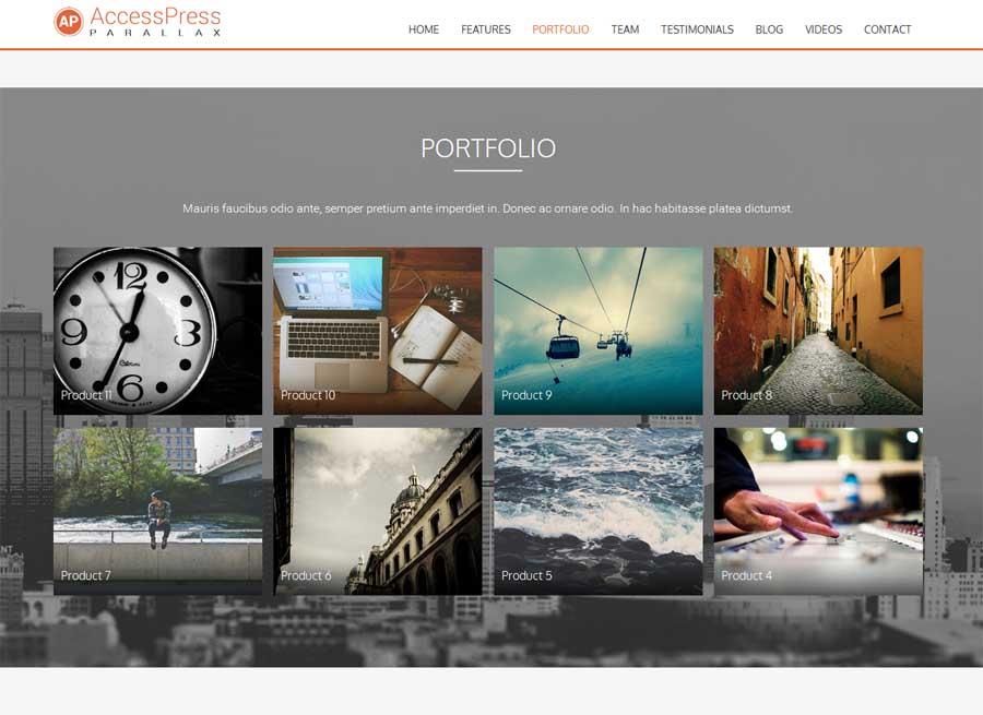 Excellent Parallax WordPress Themes - Wordpress Themes #329