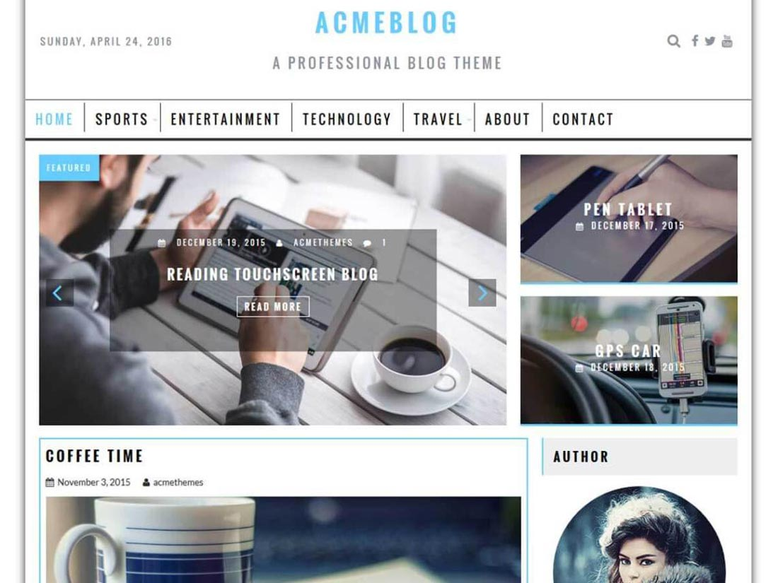 free event wordpress themes