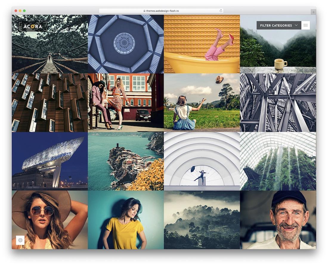 20 Best Photo Gallery Website Templates 20   Colorlib