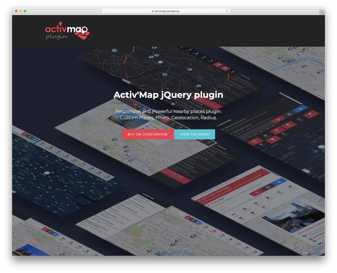 activmap jquery map plugin