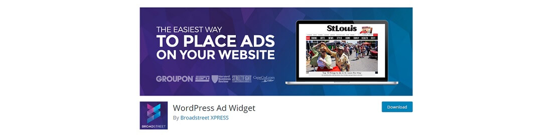 ad widget free plugin