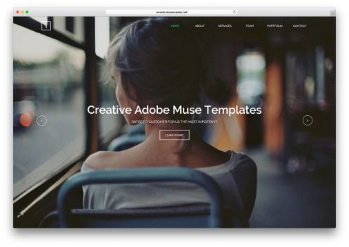 adobe muse templates free - 20 best html5 bootstrap portfolio website templates 2018