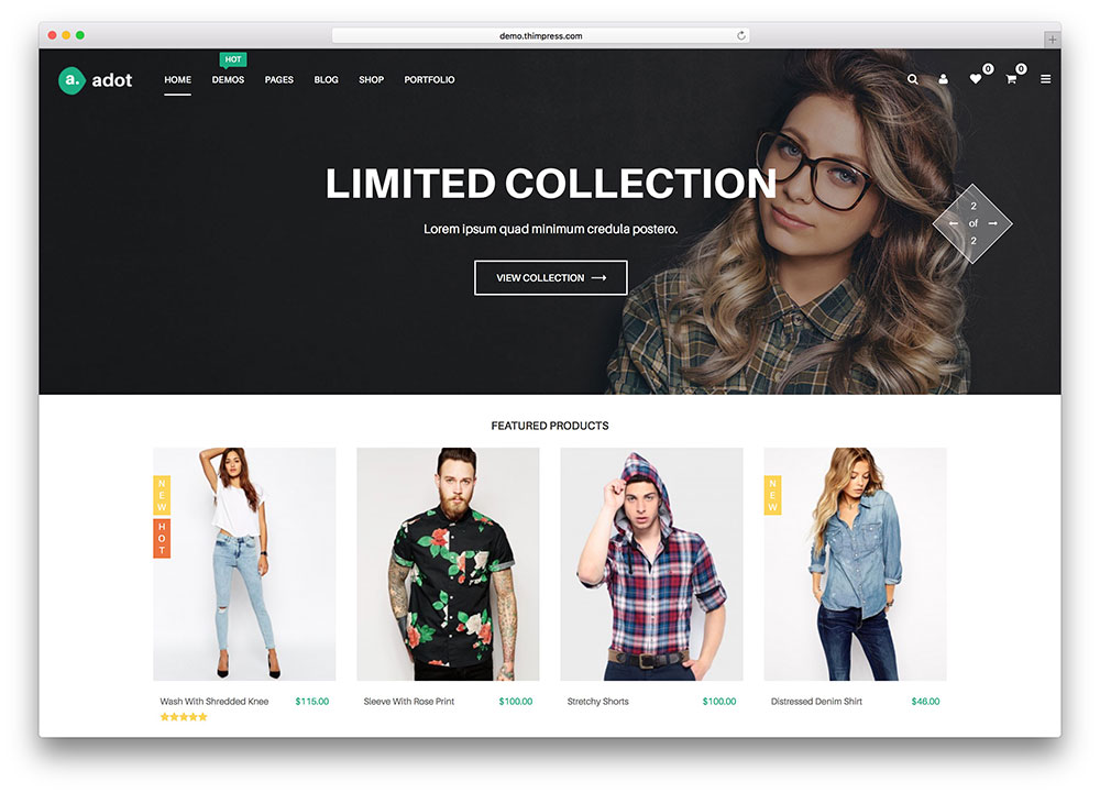 52 Awesome Ecommerce Wordpress Themes 2018 Colorlib