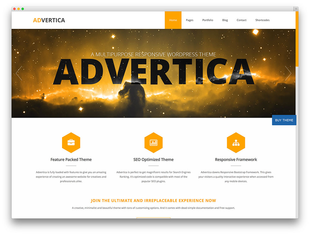 advertica business template