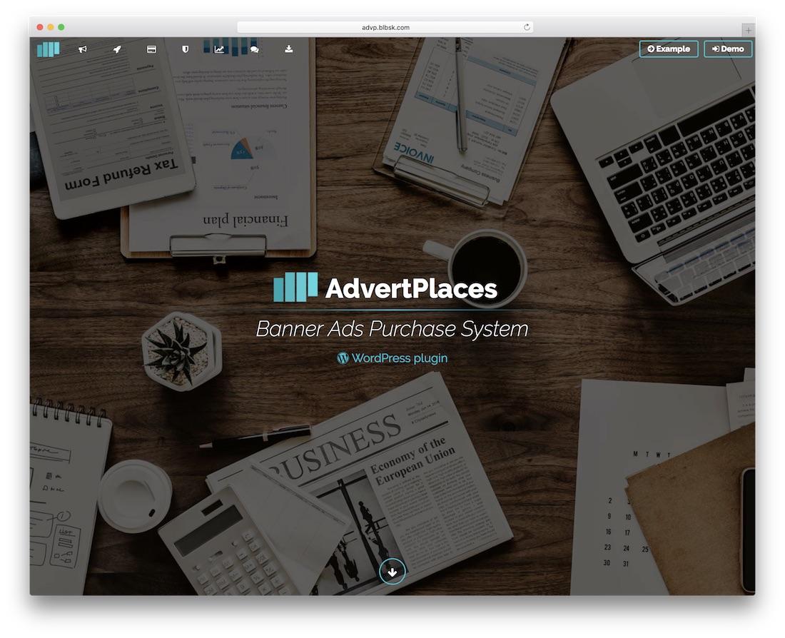 advertplaces marketing plugin