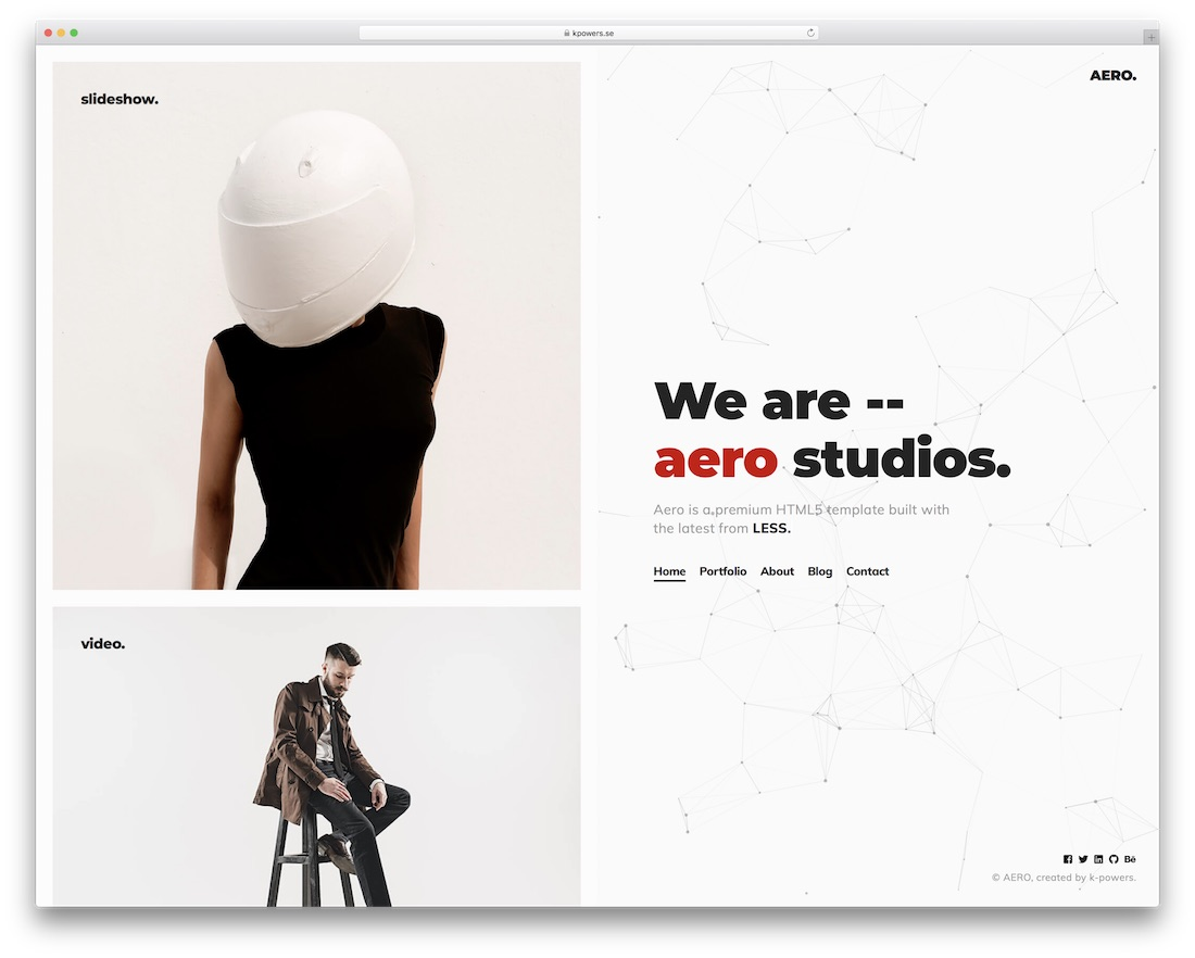 25 Of The Most Beautiful Website Templates 2019 Colorlib